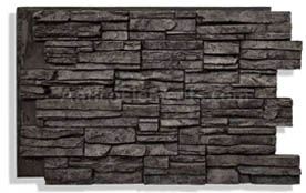 Faux Stone Wall Photo